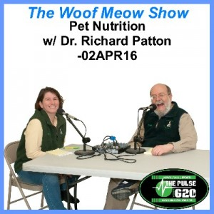 02APR16-Pet Nutrition w-Dr Richard Patton 400x400