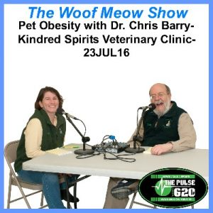 23JUL16-Pet Obesity with Dr. Chris Barry-Kindred 400x400