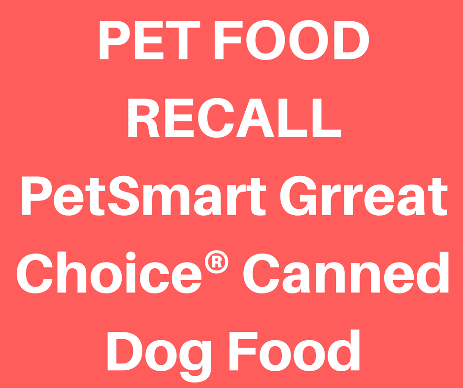 Canned Dog Food Recall