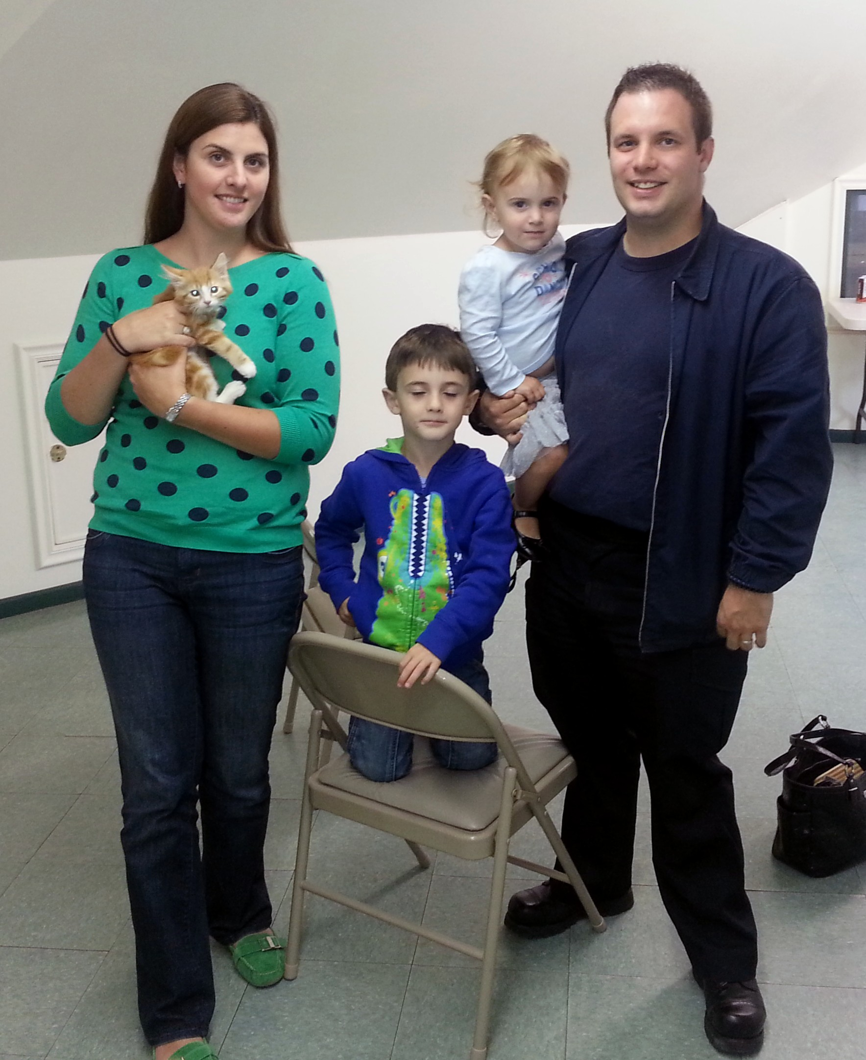 2nd Cats on Tour Adoption